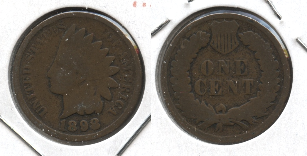 1898 Indian Head Cent Good-4 #aj