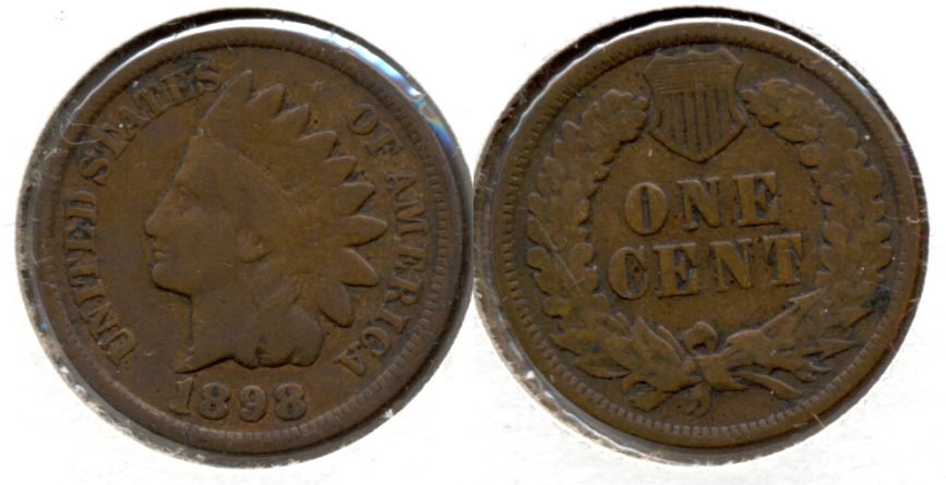 1898 Indian Head Cent Good-4 h