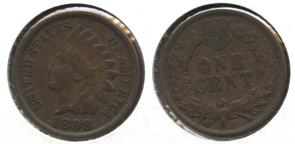 1898 Indian Head Cent VF-20 #f