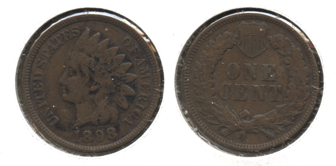 1898 Indian Head Cent VF-20 #k