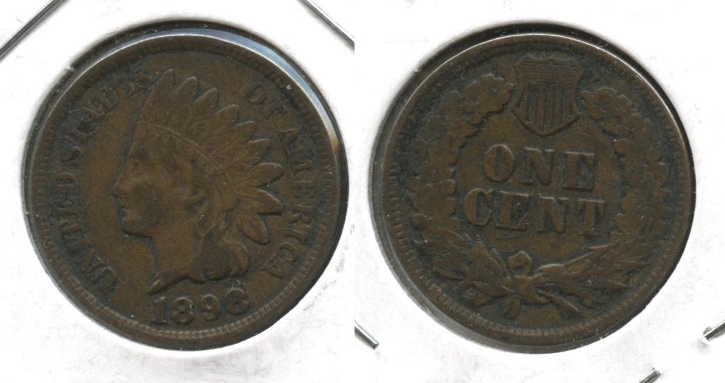 1898 Indian Head Cent VF-20 #r