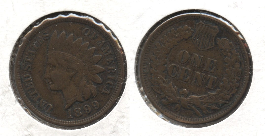 1899 Indian Head Cent EF-40 #d