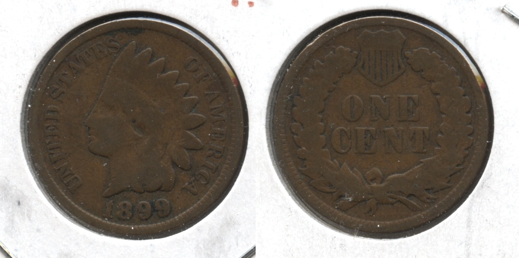 1899 Indian Head Cent Good-4 #ac