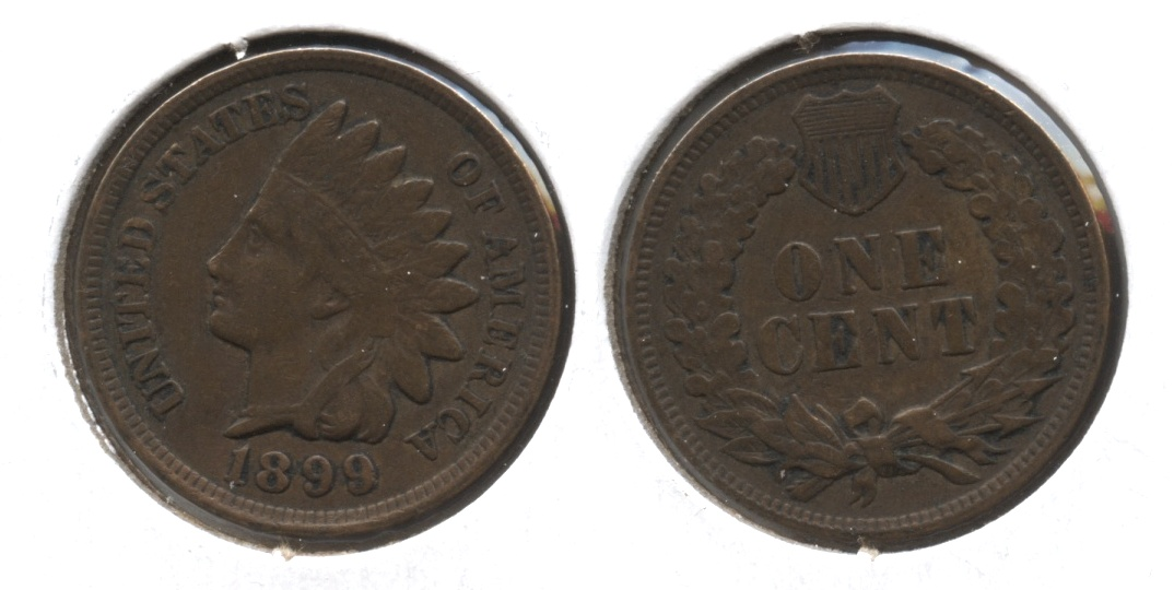 1899 Indian Head Cent VF-20 #m
