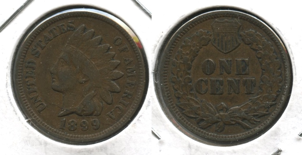 1899 Indian Head Cent VF-20 #q