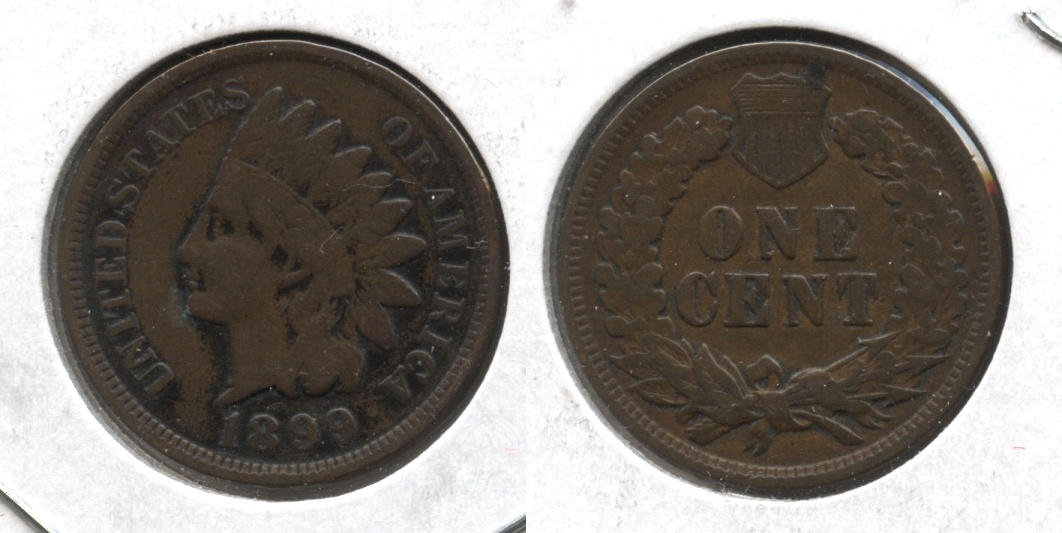 1899 Indian Head Cent VG-8