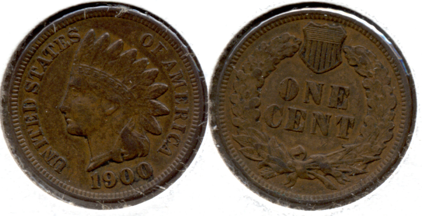 1900 Indian Head Cent EF-40