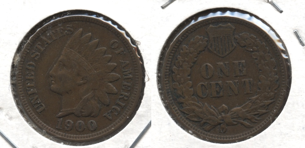 1900 Indian Head Cent EF-40 #h