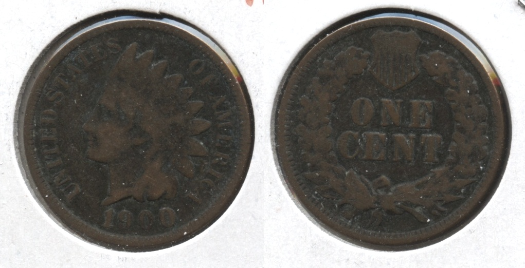 1900 Indian Head Cent Good-4 #j