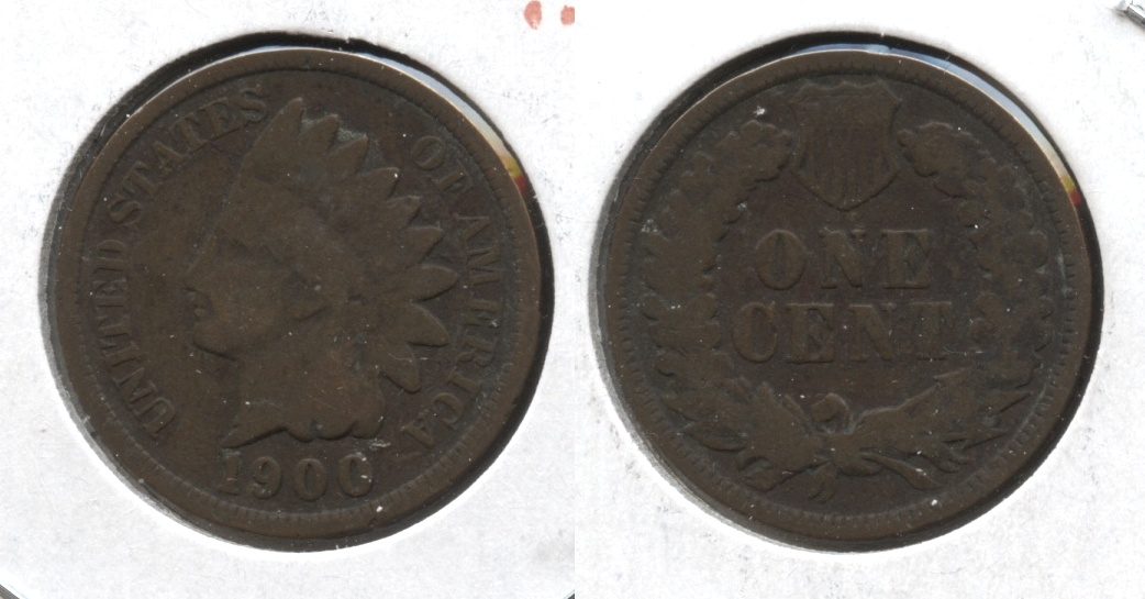 1900 Indian Head Cent Good-4 #k