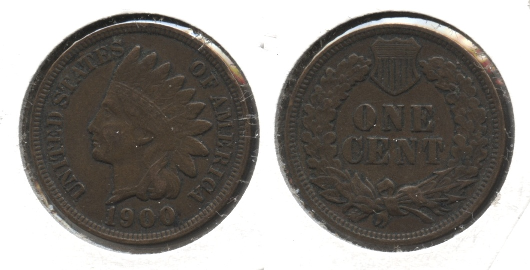 1900 Indian Head Cent VF-20 #l