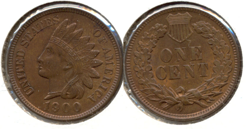 1902 Indian Head Cent MS-63 Red Brown