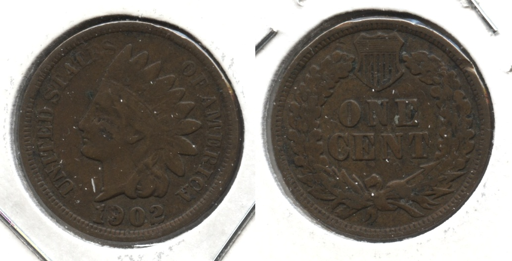 1902 Indian Head Cent VG-8 #j