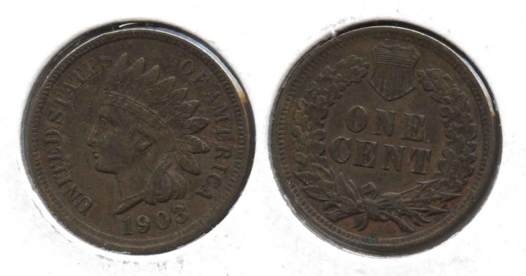 1903 Indian Head Cent EF-40 #n