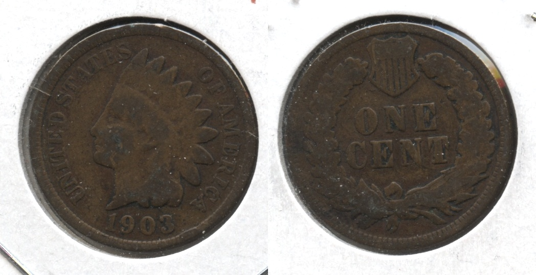 1903 Indian Head Cent Good-4 #i