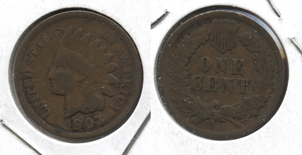 1903 Indian Head Cent Good-4 #k