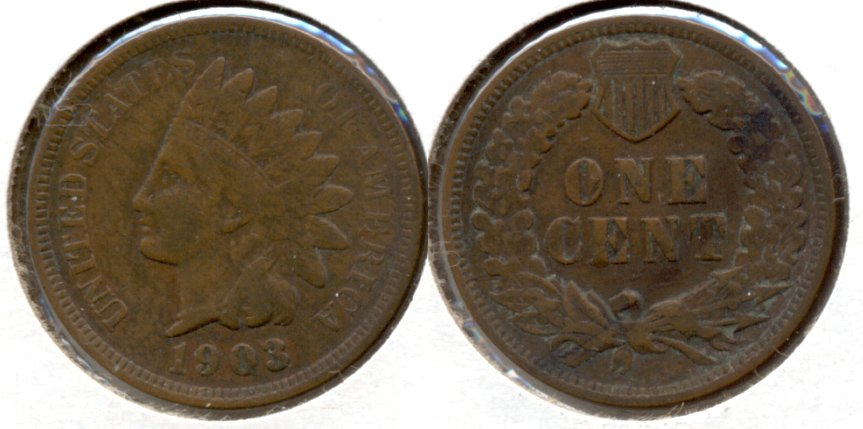 1903 Indian Head Cent VF-20 a