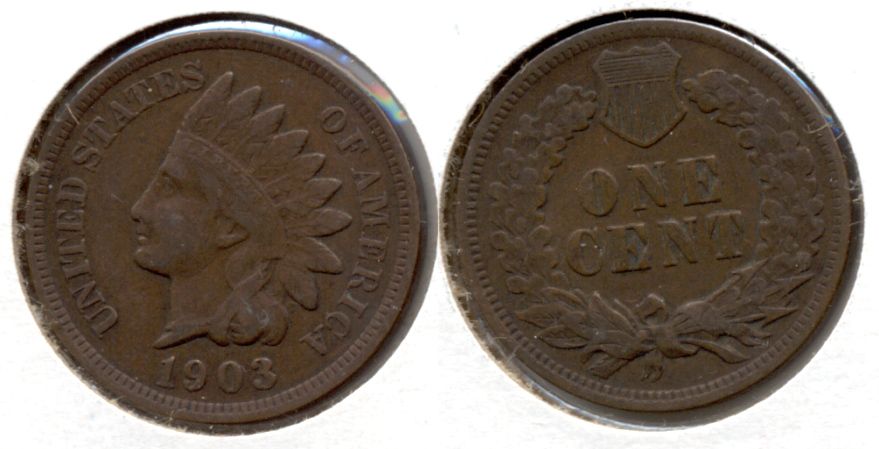 1903 Indian Head Cent VF-20 b