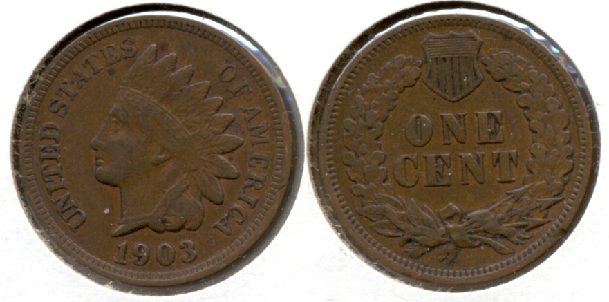 1903 Indian Head Cent VF-20 h
