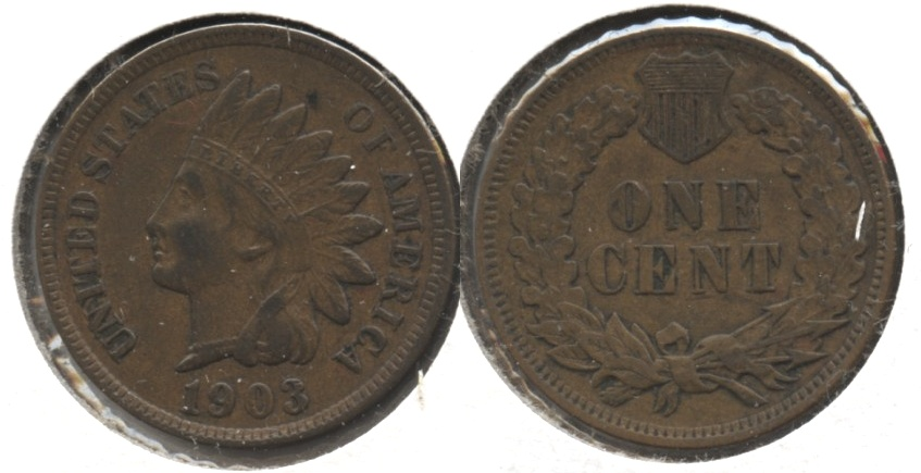 1903 Indian Head Cent VF-20 #p