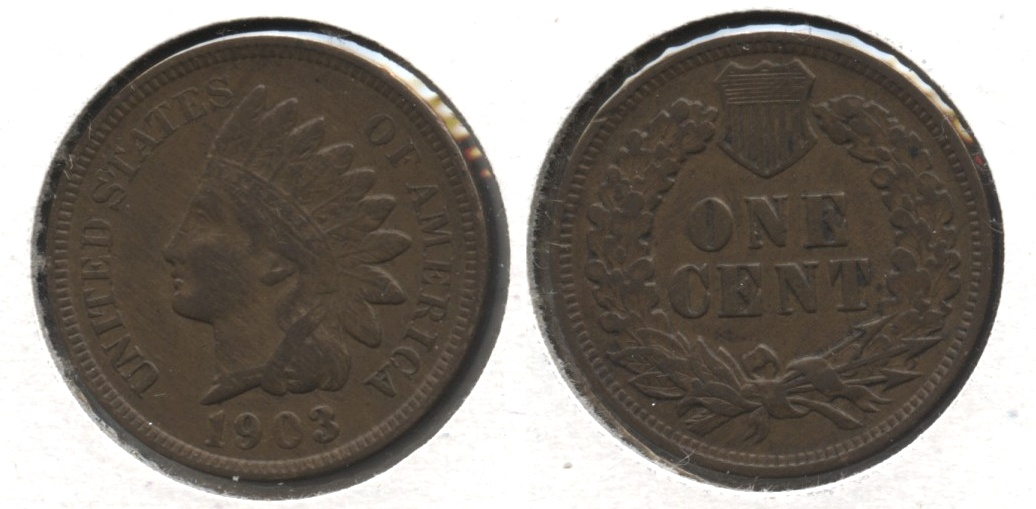 1903 Indian Head Cent VF-20 #r