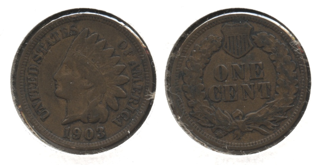 1903 Indian Head Cent VF-20 #y
