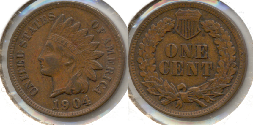 1904 Indian Head Cent EF-40