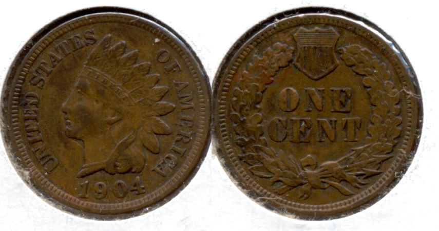 1904 Indian Head Cent EF-40 i