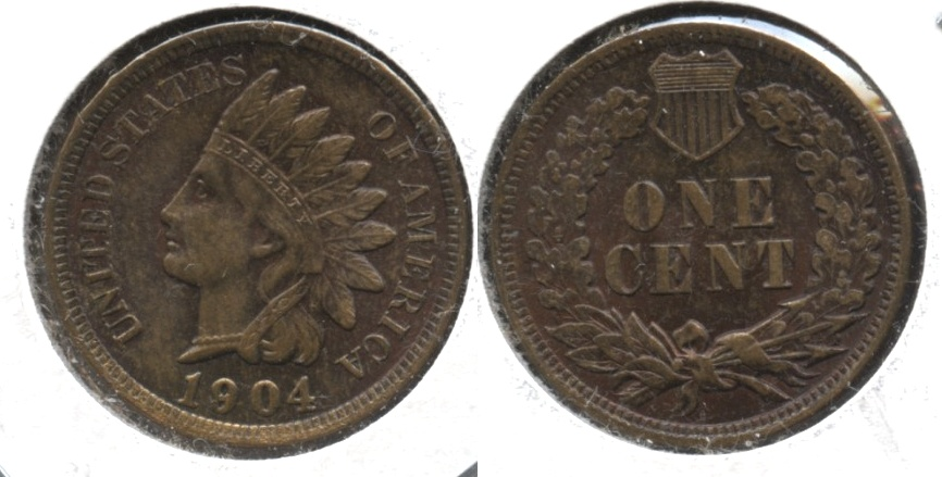1904 Indian Head Cent MS-64 Brown #a