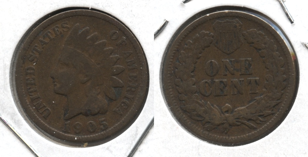 1905 Indian Head Cent Good-4 #j