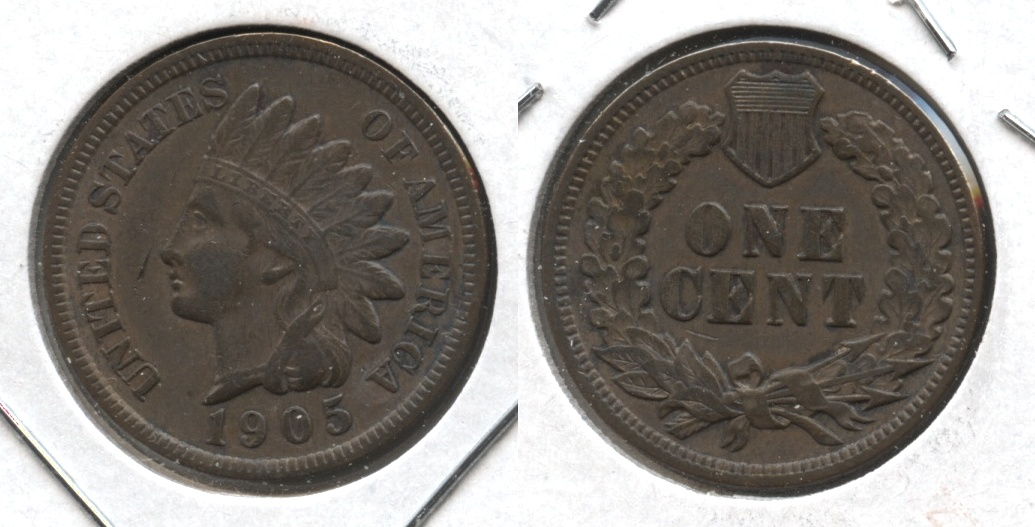 1905 Indian Head Cent VF-20 #ap