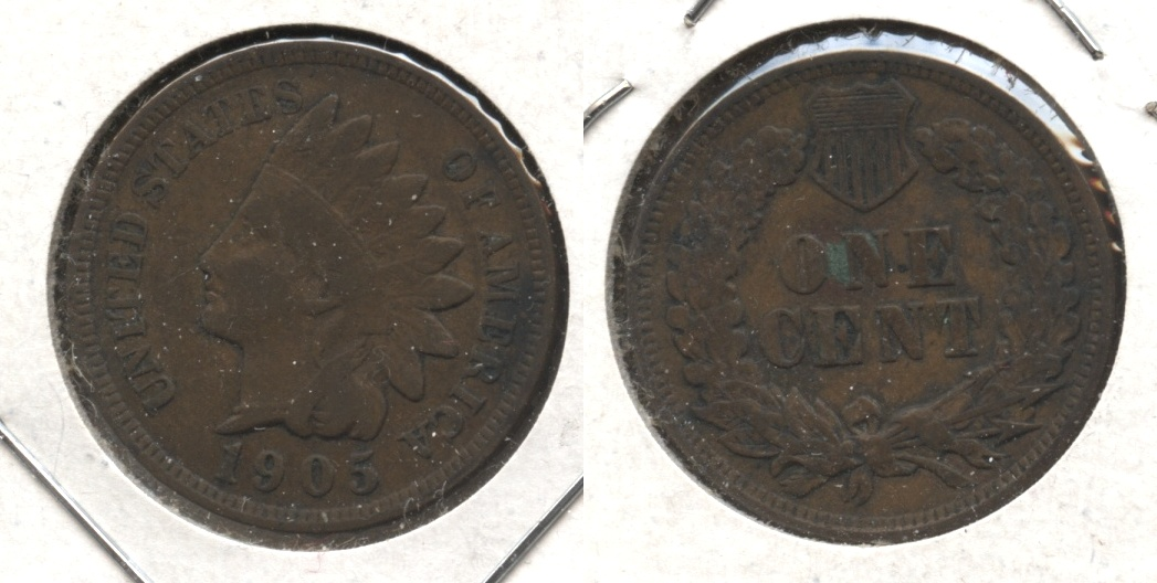 1905 Indian Head Cent VG-8 #o