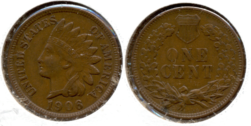 1906 Indian Head Cent EF-40