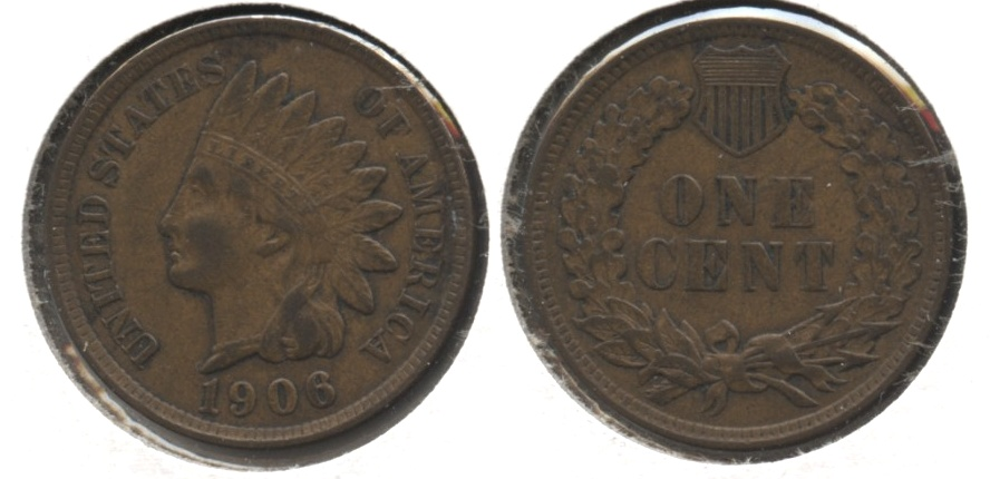 1906 Indian Head Cent VF-20 #ao