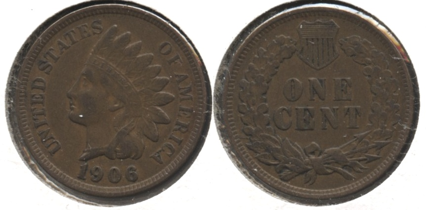 1906 Indian Head Cent VF-20 #ap