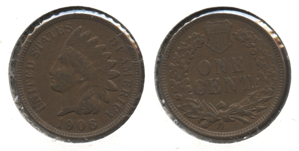 1906 Indian Head Cent VF-20 #av