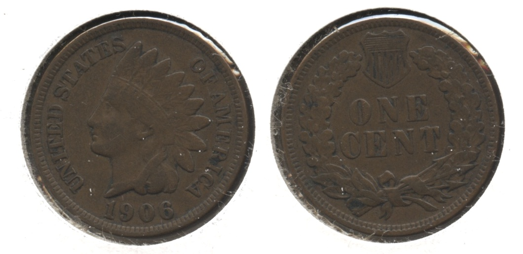 1906 Indian Head Cent VF-20 #bc