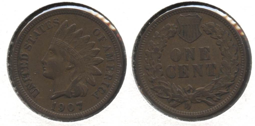 1907 Indian Head Cent VF-20 #bc