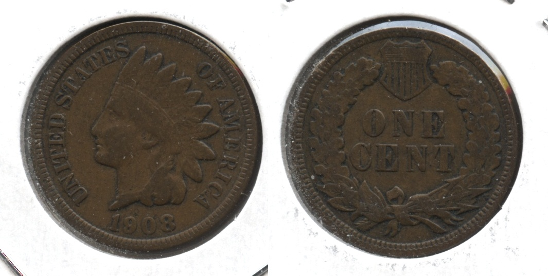 1908 Indian Head Cent VG-10