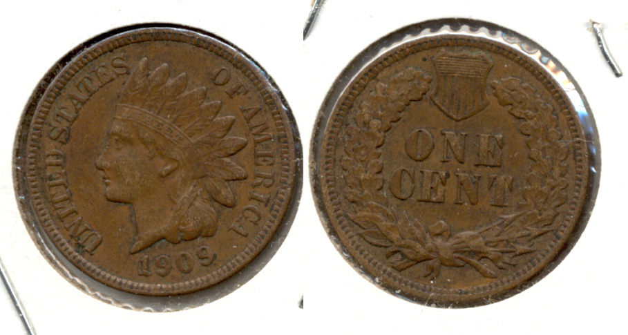 1909 Indian Head Cent EF-40 e