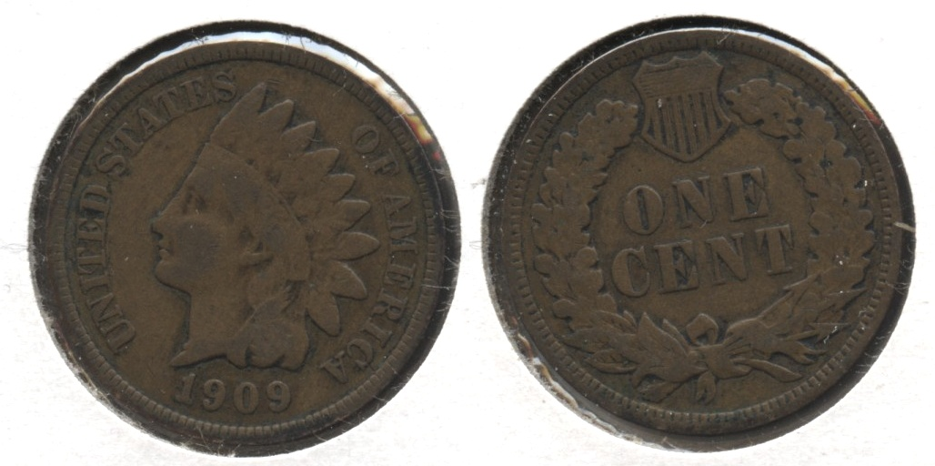 1909 Indian Head Cent Good-4 #ab