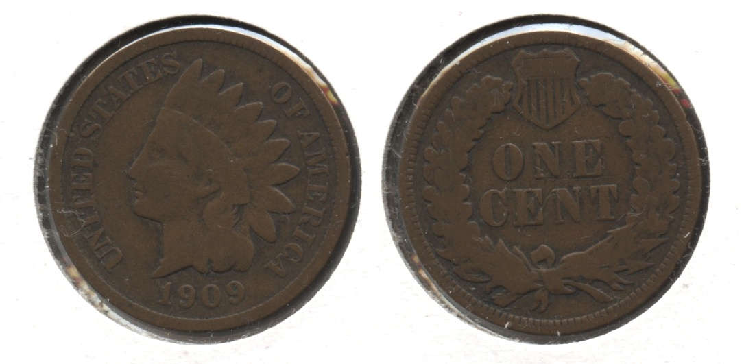 1909 Indian Head Cent Good-4 #am