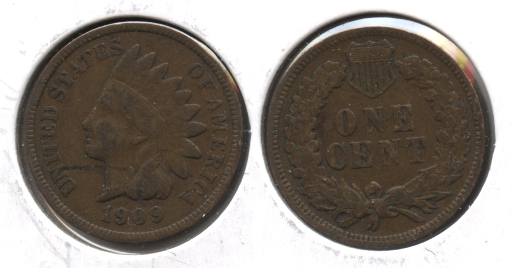1909 Indian Head Cent Good-4 #at