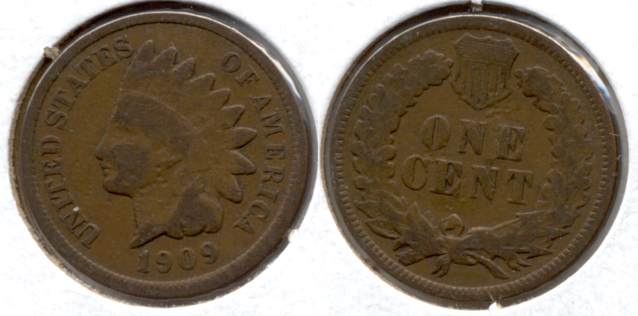 1909 Indian Head Cent Good-4 h