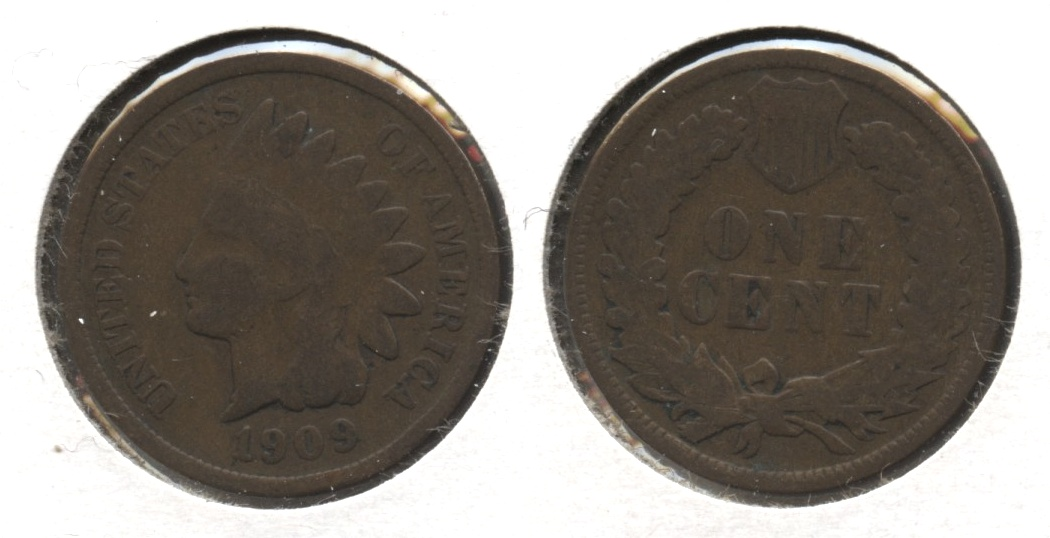 1909 Indian Head Cent Good-4 #y