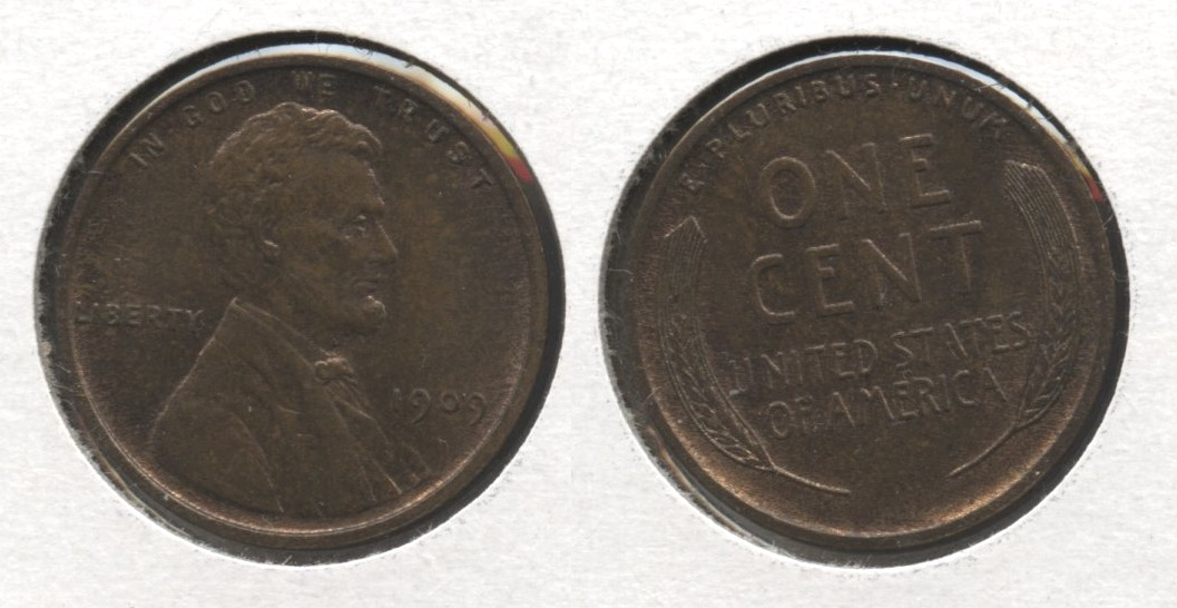 1909 Lincoln Cent MS-63 Brown #v