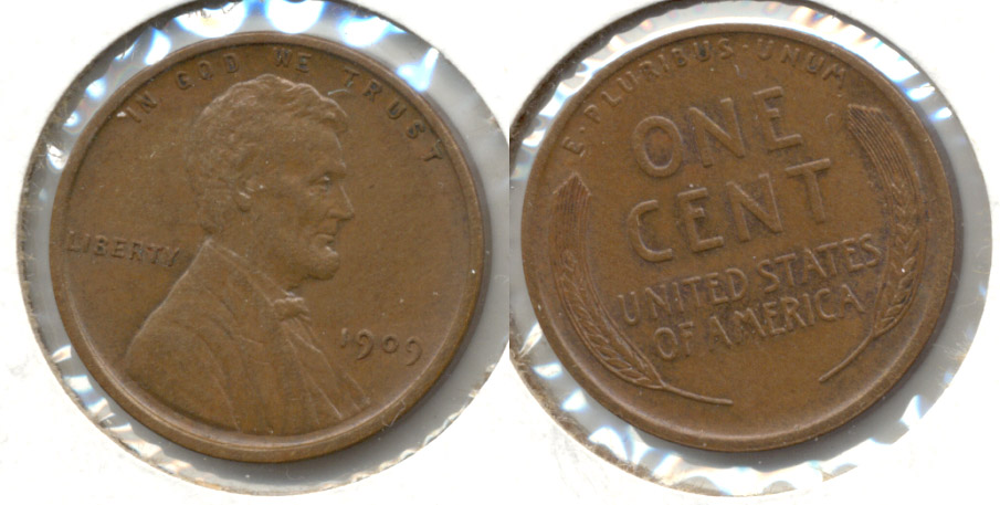 1909 Lincoln Cent MS-65 Brown