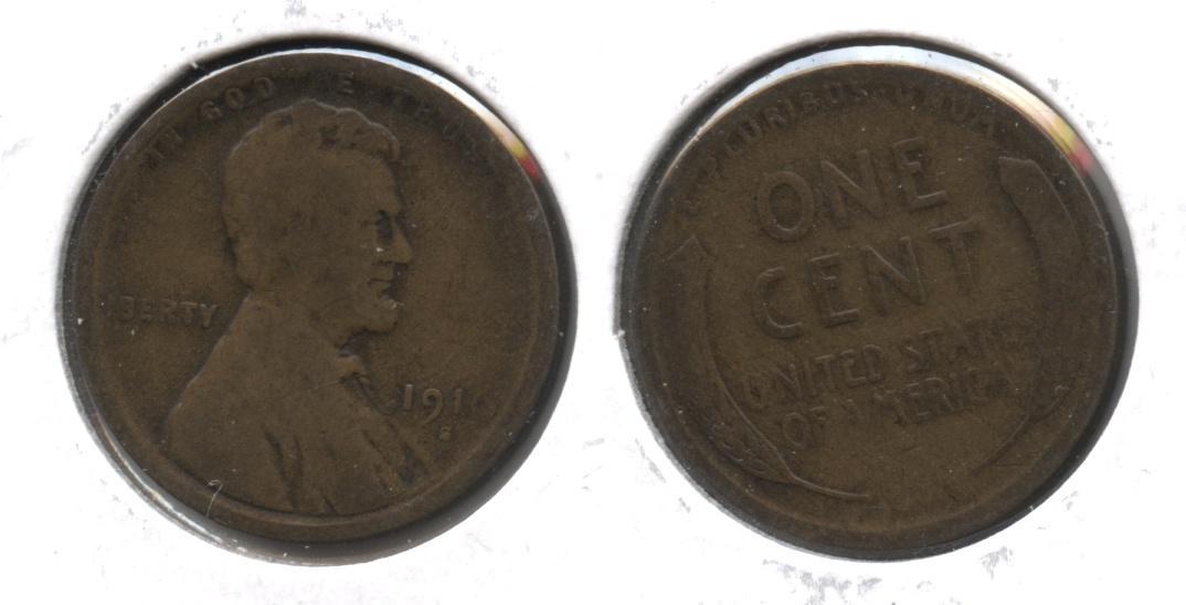 1910-S Lincoln Cent Good-4 #h