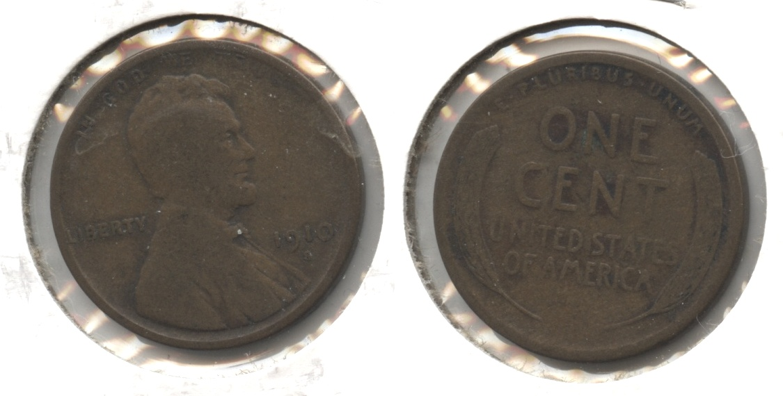 1910-S Lincoln Cent VG-8 #q
