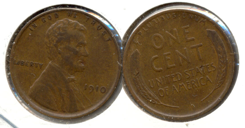 1910 Lincoln Cent EF-45 b